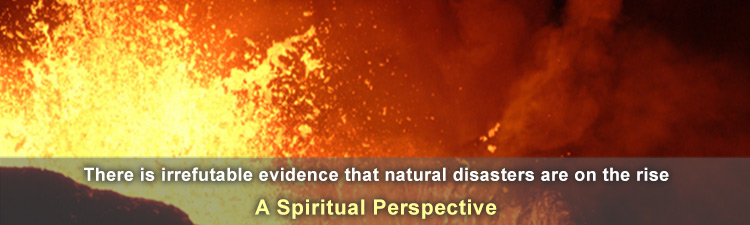 Natural disasters - evidence