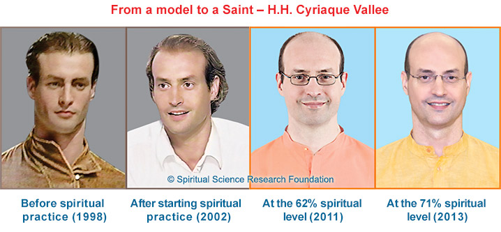 Progression from a model to a Saint