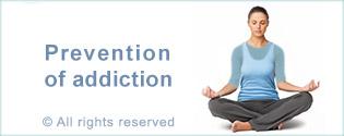 prevention of addiction