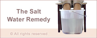 The Salt water remedy