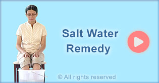 salt water treatment helps in overcoming addiction