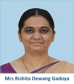 Mrs Rishita Dewang Gadoya