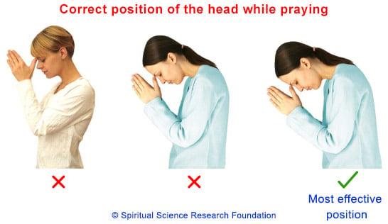 How to pray correctly