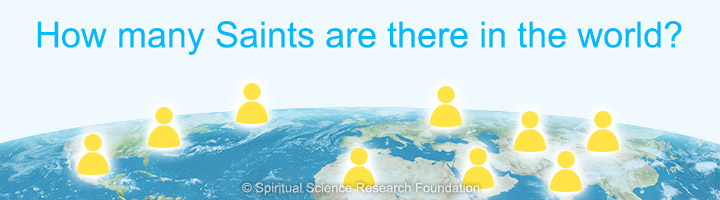 How many Saints are there in the world?