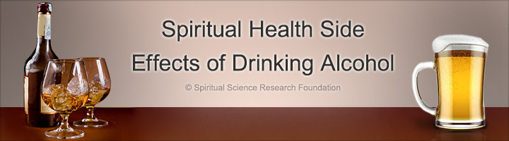 Spiritual Health Side Effects of Drinking Alcohol