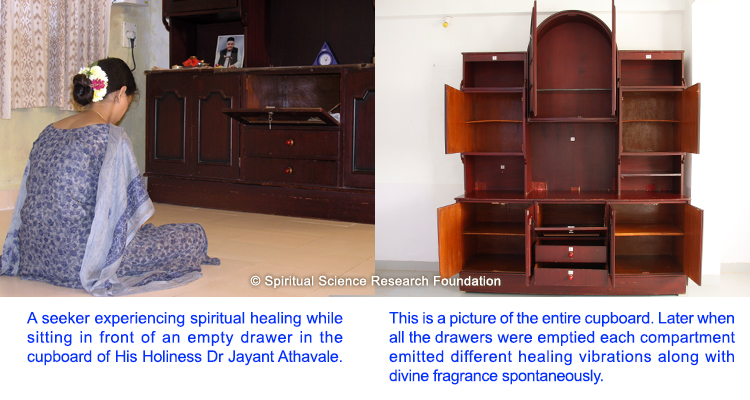 Cupboard of HH Dr Jayant Athavale