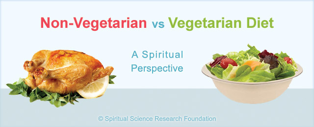 Did you know that if one is a non-vegetarian one can take longer to progress spiritually? Even after giving up meat – it can take a person body many years to be rid of the spiritual impurity of eating meat.