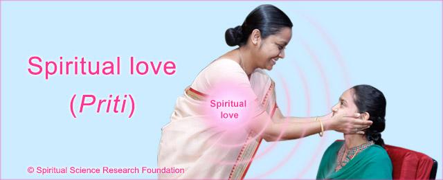 Spiritual love (Priti)