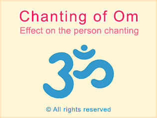 Chanting of Om