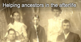 Helping ancestors in the afterlife