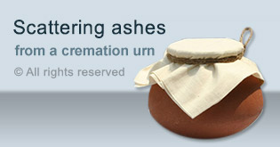 Scattering ashes from a cremation urn − effect on people in the afterlife