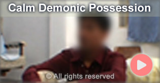 calm demonic possession