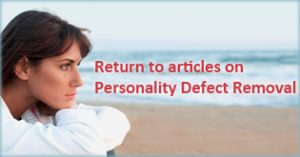 Return to articles on Personality Defect Removal