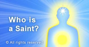 who is a saint