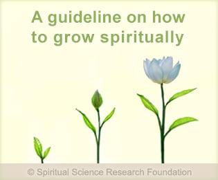 Guideline on how to grow spiritually