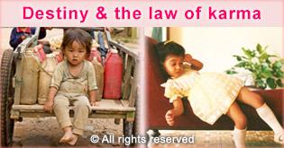 destiny and law of karma