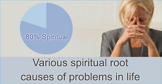 Various spiritual root causes