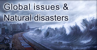 Global issues and natural disasters