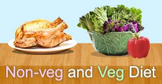 non veg and veg