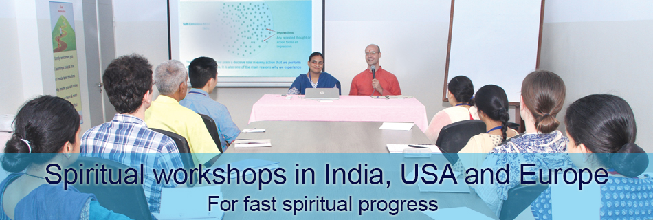 Spiritual workshops for rapid spiritual growth