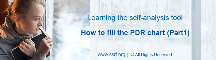 Self-analysis tool – The PDR chart (Part1)