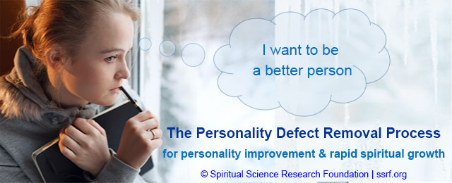 Personality defect removal and personality improvement