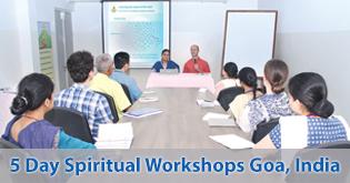 5 Day Spiritual Workshops Goa, India