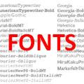 fonts120