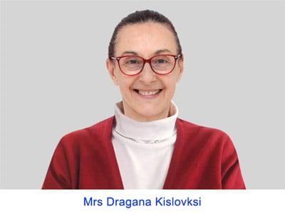Mrs Dragana Kislovski
