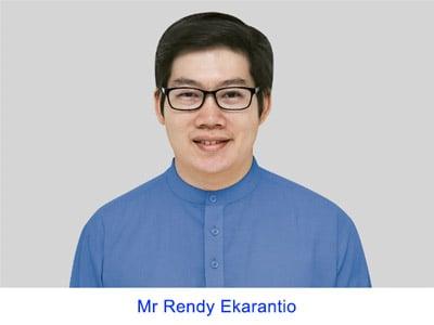 Mr Rendy Ekarantio
