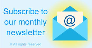 Subscribe to our monthly newsletter in 2018