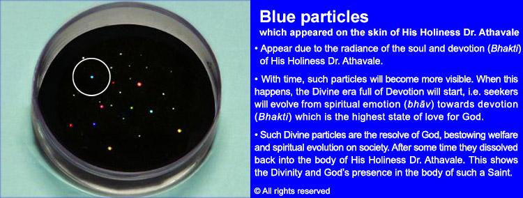6 Blue Particles