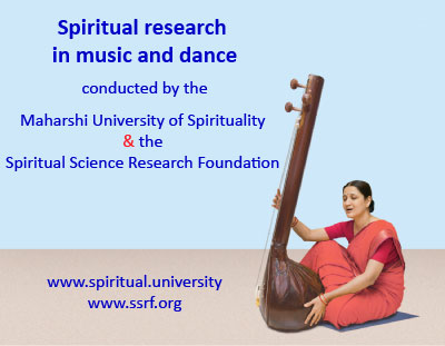 Spiritual research in music and dance