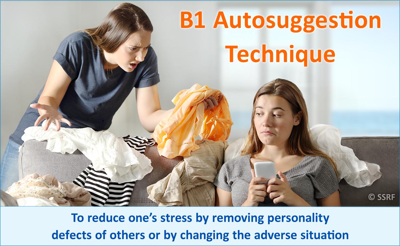 B1 Autosuggestion Technique