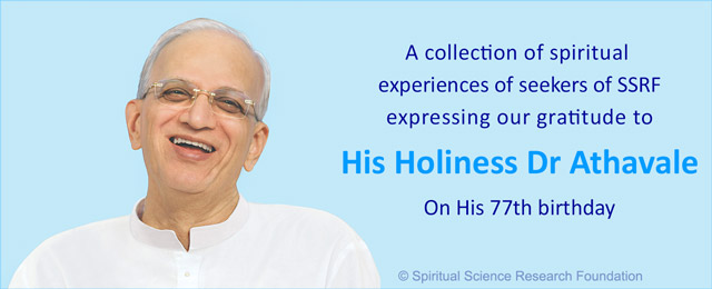 77th birthday of His Holiness Dr Athavale