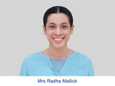 Mrs Radha Mallick