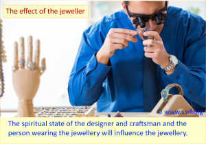 The effect of the jeweller