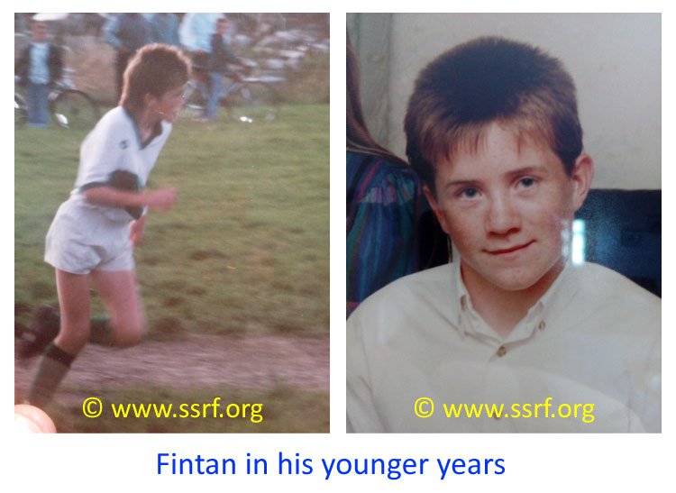 Fintan in his younger years
