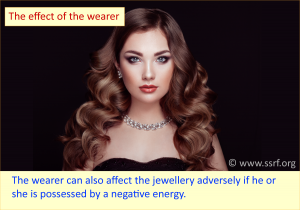 The effect of the wearer