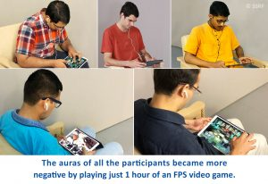 Participants of the experiment on video games and video game addiction