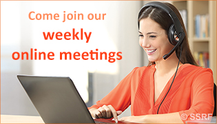 Come join our weekly online meetings