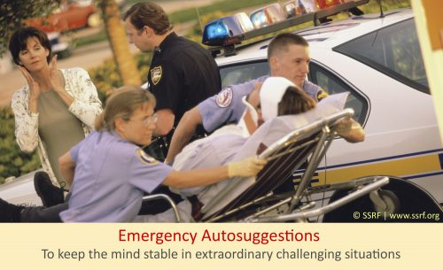 What is an Emergency Autosuggestion ?