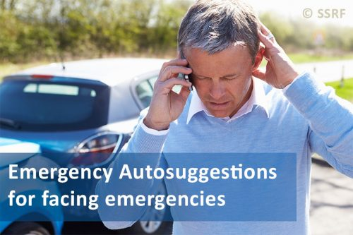 Emergency Autosuggestions when one is facing a general emergency
