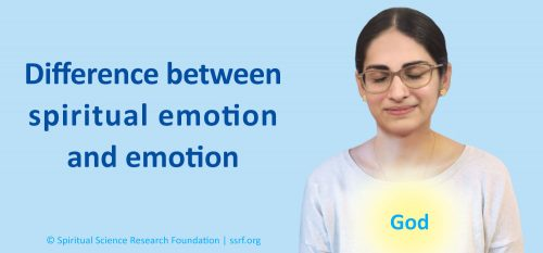 Difference between spiritual emotion and emotion