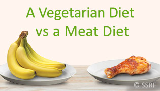 A Vegetarian Diet vs a Meat Diet