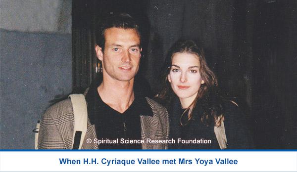 H.H. Cyriaque Vallee meets Yoya Vallee