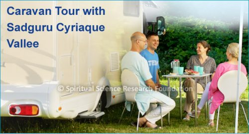 Caravan Tour with Sadguru Cyriaque Vallee
