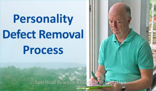 Personality Defect Removal Process