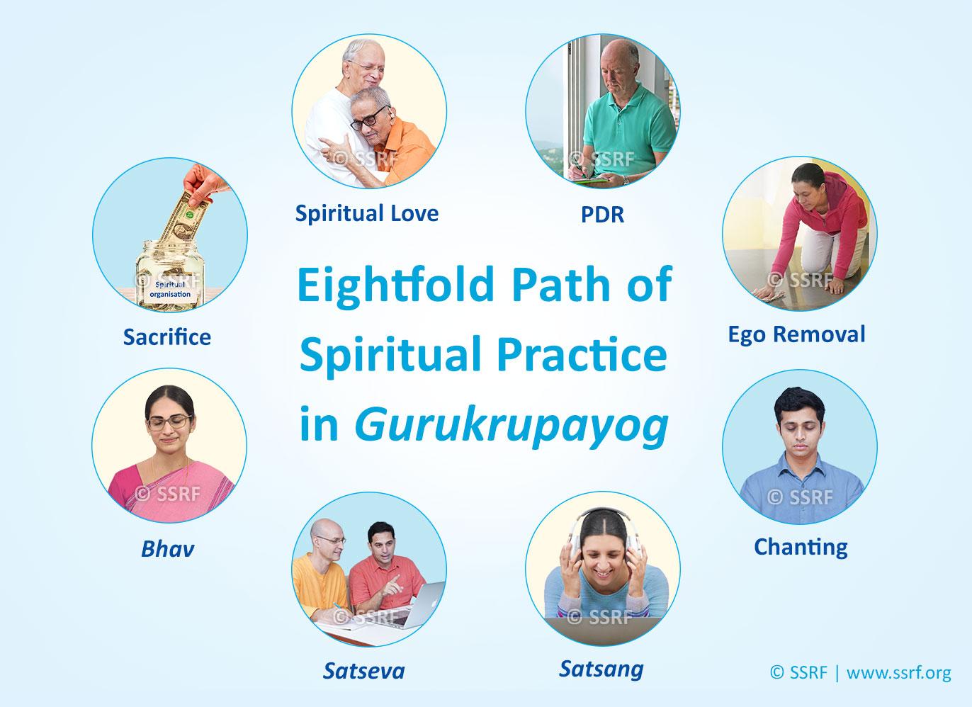 8 Steps of daily spiritual practice for faster spiritual growth – Gurukrupayog