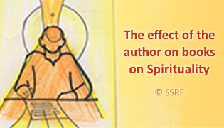The effect of the author on books on Spirituality